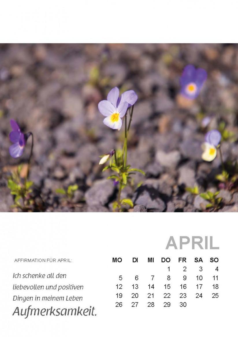 Seelenzeitkalender April 2021